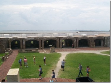 Fort Sumter National Monument, located in the Charleston Harbor, brought in 840,712 visitors in 2015. Those visitors spent about $48 million and supported 734 jobs, the most of any of the national parks in the state. (Photo/Liz Segrist)