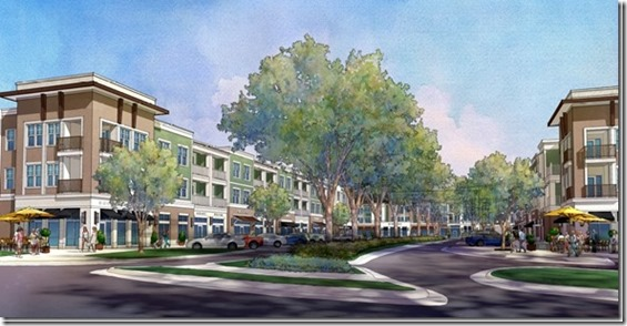 Plans for the $58 million development on Forest Drive call for the construction of 240 luxury apartments and 16 upscale townhomes. In addition, the developer plans to include 30,000 square feet of space for retail.