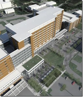 Lexington Medical Center broke ground on a $400 million, 545,000-square-foot addition earlier this month. The 10-story tower will house the labor and delivery unit and open in 2019. (Photo/Provided)