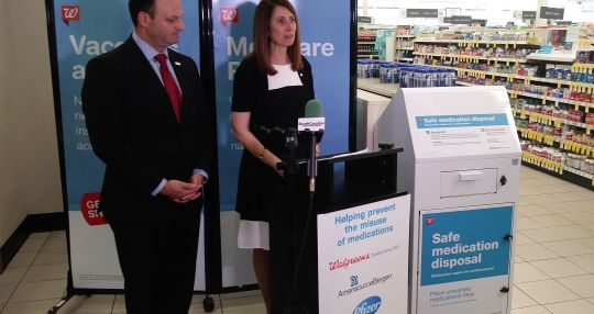 Walgreens expands medication disposal program
