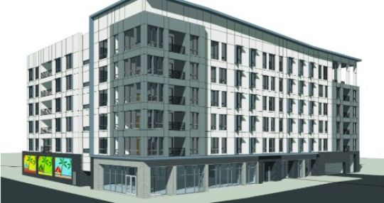 Luxury apartments planned for Assembly and Lady streets