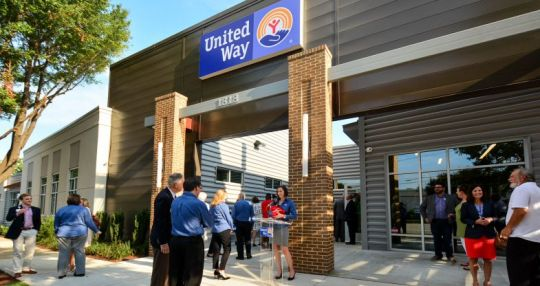 United Way celebrates new headquarters, community center
