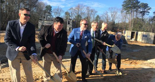 Ground broken on another hotel near Lexington Medical Center