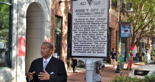 Historical markers help civil rights activist make better memories