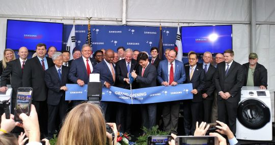 Samsung celebrates Newberry plant's grand opening