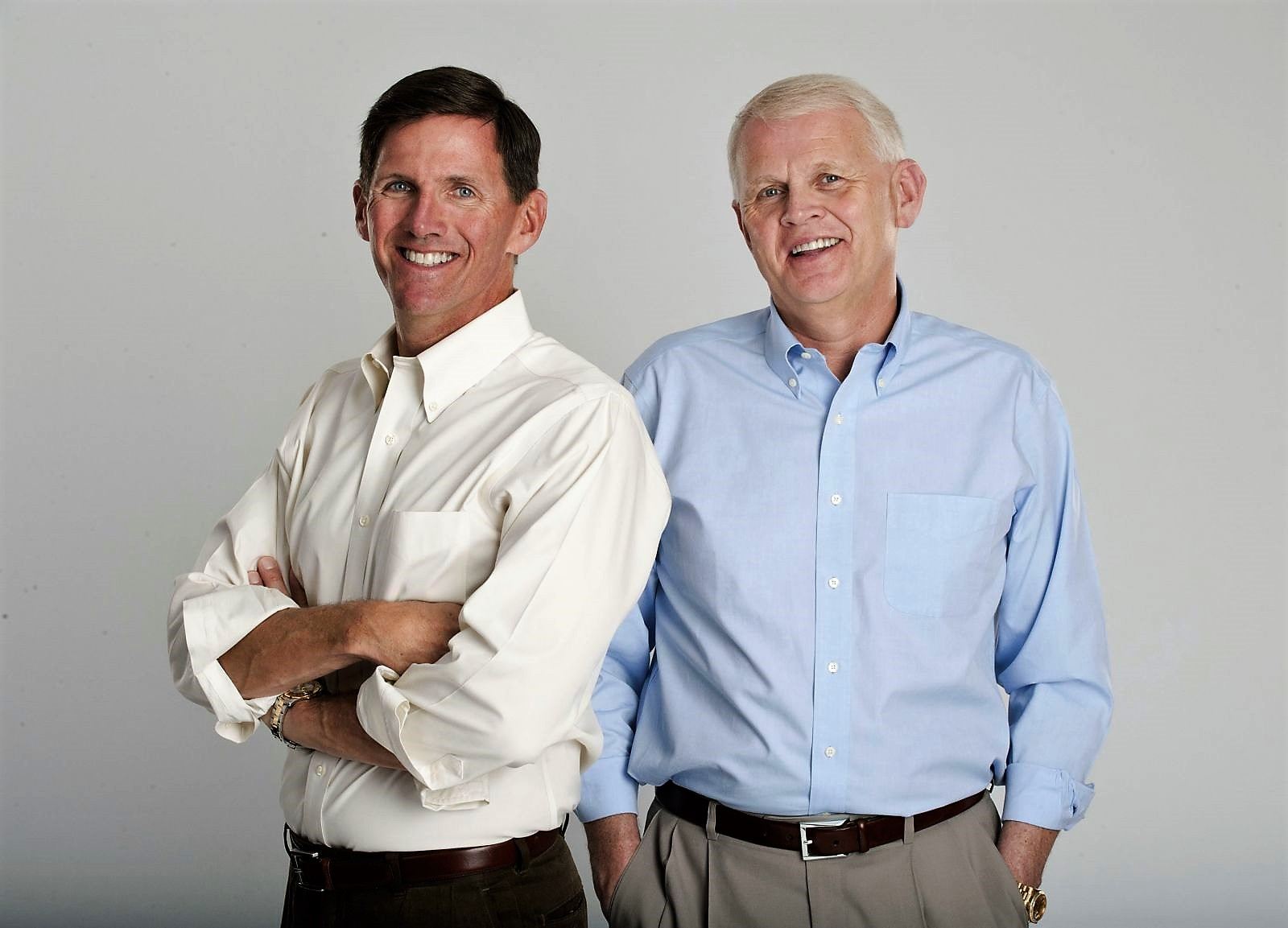 Steven (left) and Stewart Mungo will be presented the Humanitarian of the Year award from the United Way. (Photo/Provided)
