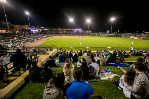 Fireflies' president John Katz said he's impressed with the support fans have shown in setting an attendance record in the team's first season in Columbia. (Photo/Jeff Blake)