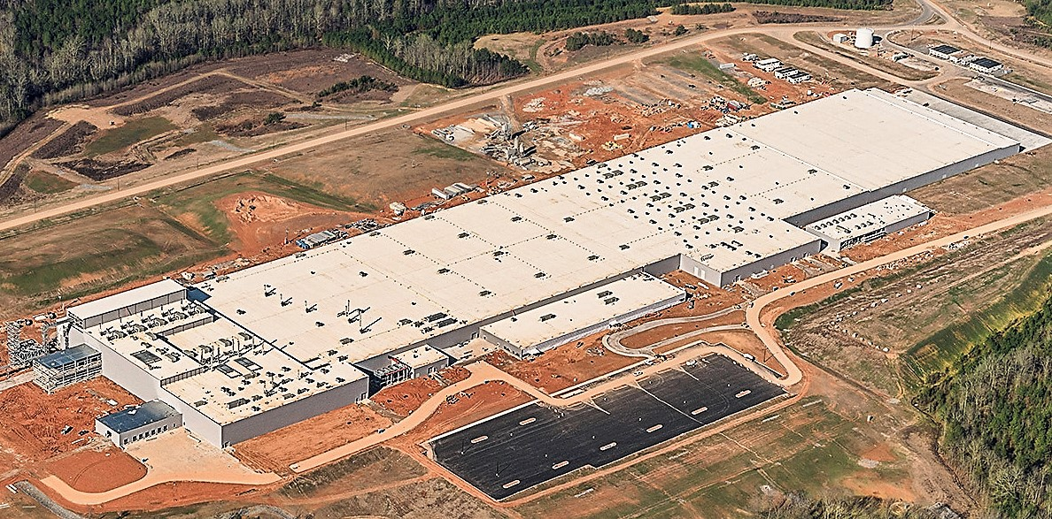 Giti Tire's new 1.8-million-square-foot in Chester County is scheduled to be operational later this year. (Photo/Provided)