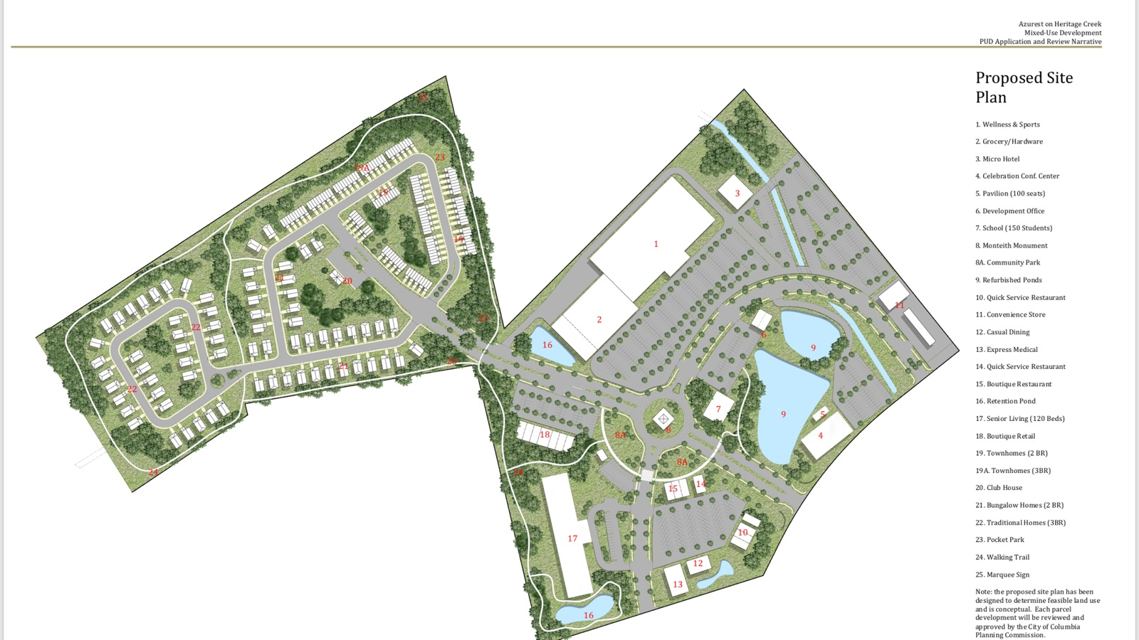 A rendering of the proposed North Columbia development (Image/Provided)