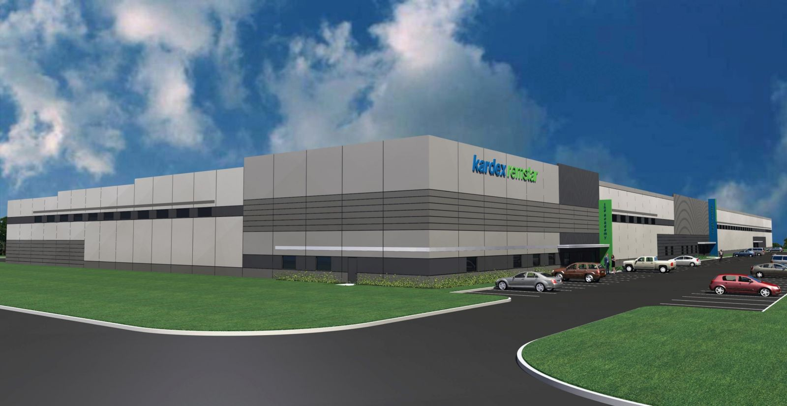 Kardex Remstar will occupy Midway Logistics V in the Lexington County Industrial Park. (Rendering/Provided)