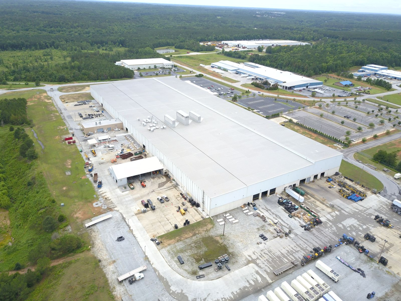 Samsung announced it would be moving into a facility in Newberry County. (Photo/Provided)