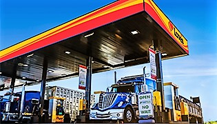 The new Travel Stop at I-77 and Bluff Road ncludes two restaurants and 92 truck-parking spaces. (Photo/Provided)