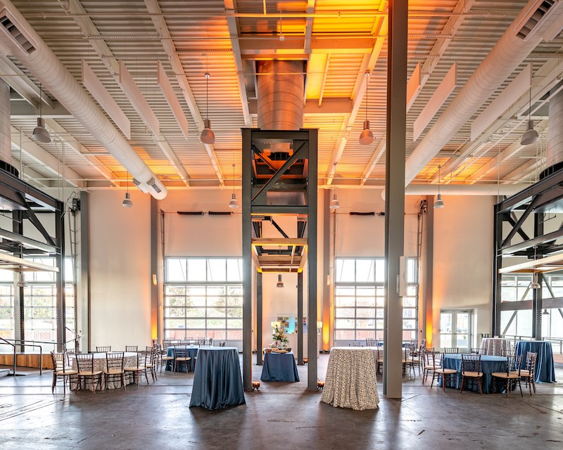 Those involved in its restoration hope Central Energy, the BullStreet District's newly opened event venue, will appeal to Columbia residents and businesses looking for a distinctive space. (Photo/Provided)