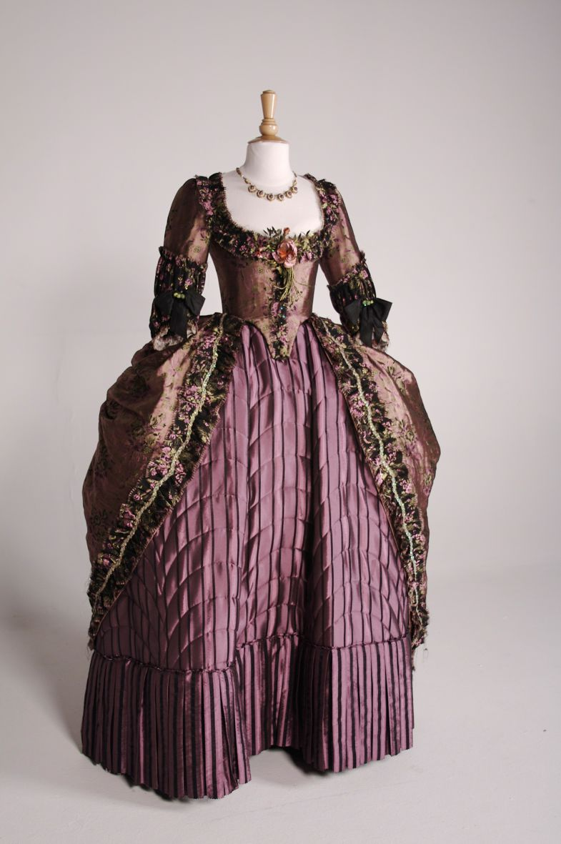 "A gown worn by Keira Knightley in ""The Duchess,"" a 2008 film that won Cosprop Ltd. its second Academy Award for costume design. (Photo/Provided)"