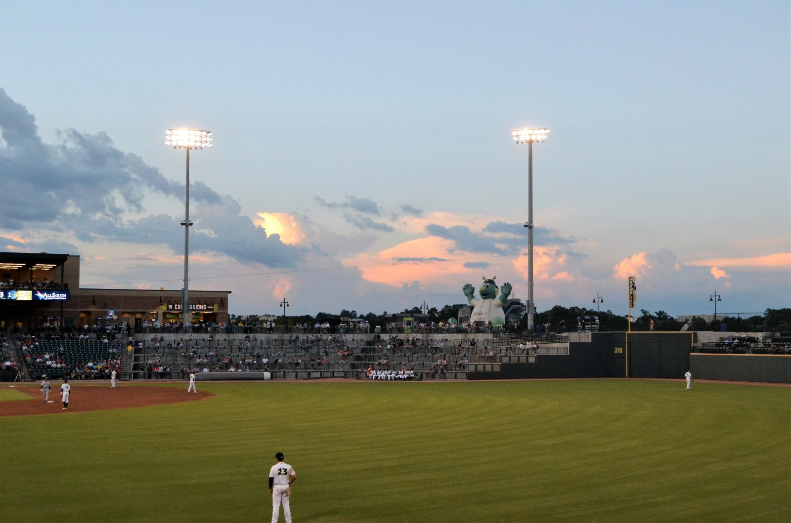 The Columbia Fireflies will open the 2021 home season on May 11 against Charleston. (Photo/Melinda Waldrop)