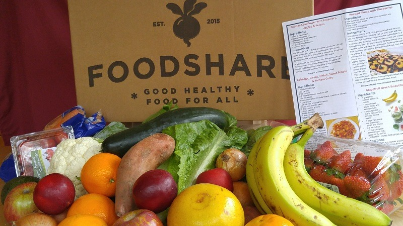 An example of the produce boxes FoodShare South Carolina provides through various programs. (Photo/Provided)
