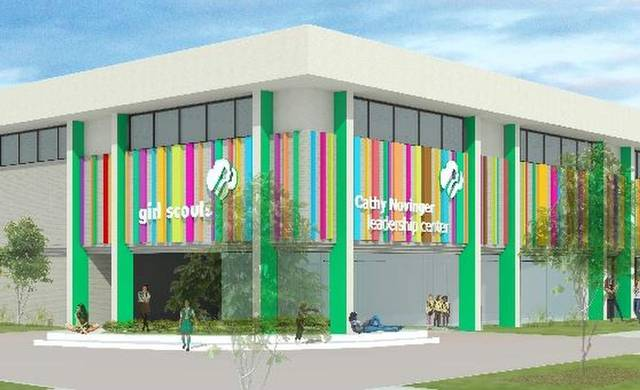 Rendering of Girl Scout building PHOTO/PROVIDED