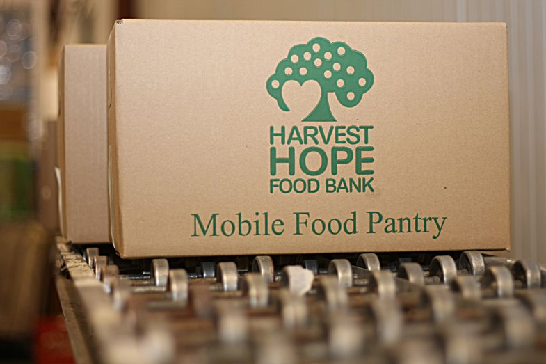 Harvest Hope Food Bank is experiencing a summer shortage and is appealing for donations. (Photo/Provided)