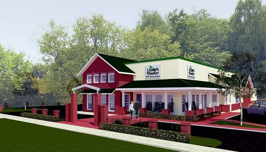 Lizard's Thicket is seeking city approval to build a new restaurant at its current Elmwood Avenue location. (Image/Provided)