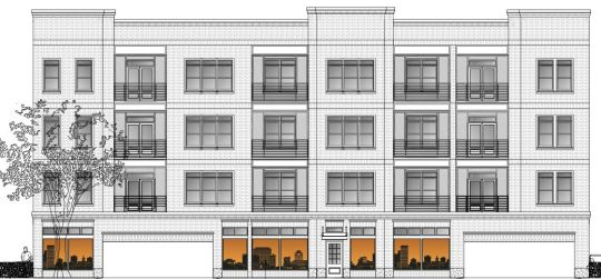 12-unit apartment building at 933 Main up for initial approval ...