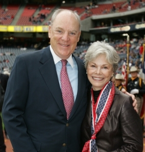 Robert and Janice McNair, whose foundation donated $8 million to the University of South Carolina to create the McNair Institute for Entrepreneurism and Free Enterprise. (Photo/Provided)