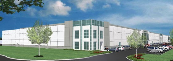 An artist rendering of the new Midway Logistics II building planned for Lexington County Industrial Park. (Photo/Provided)