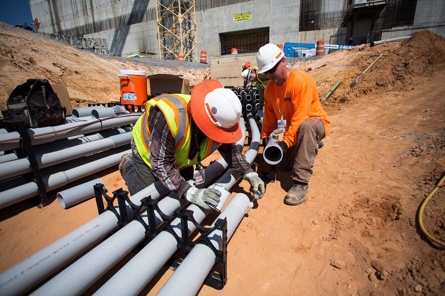 About 1,800 workers are employed on the MOX project at Savannah River. (Photo/U.S. Department of Energy)