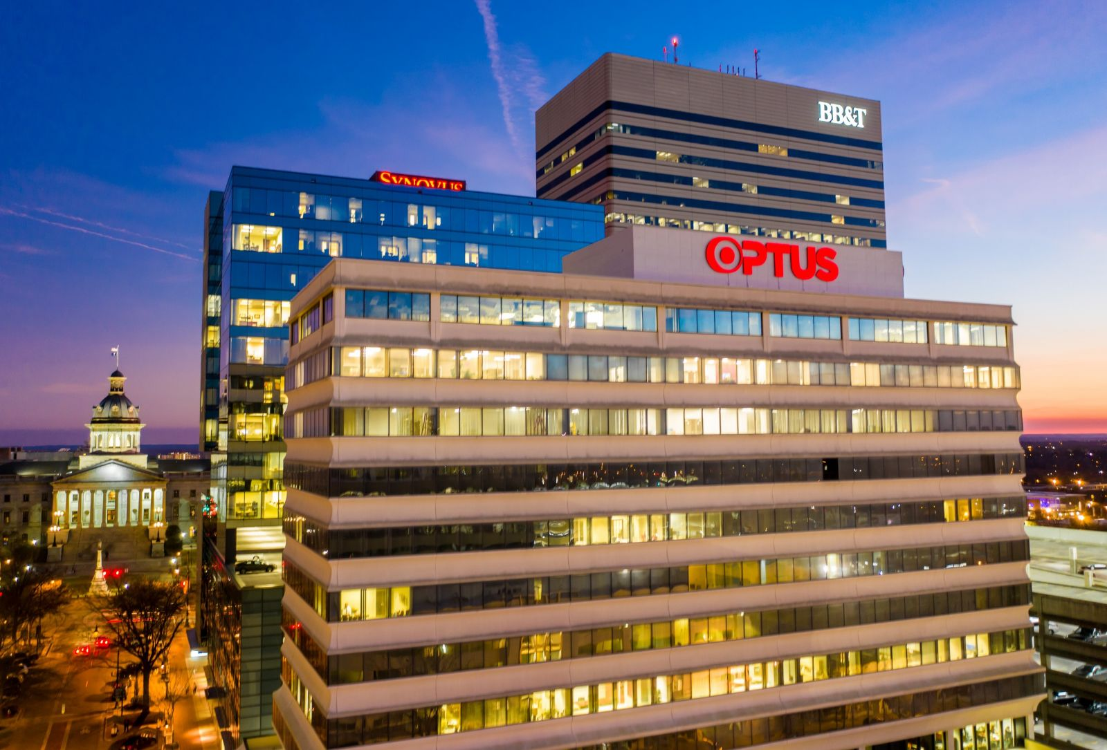 As the second round of PPP loans kicks into high gear, S.C. banks say that while the level of panic has subsided, the need is still great. Columbia's Optus Bank is already processing 600 loans. (Photo/Jeff Blake/JeffBlakePhoto.com)