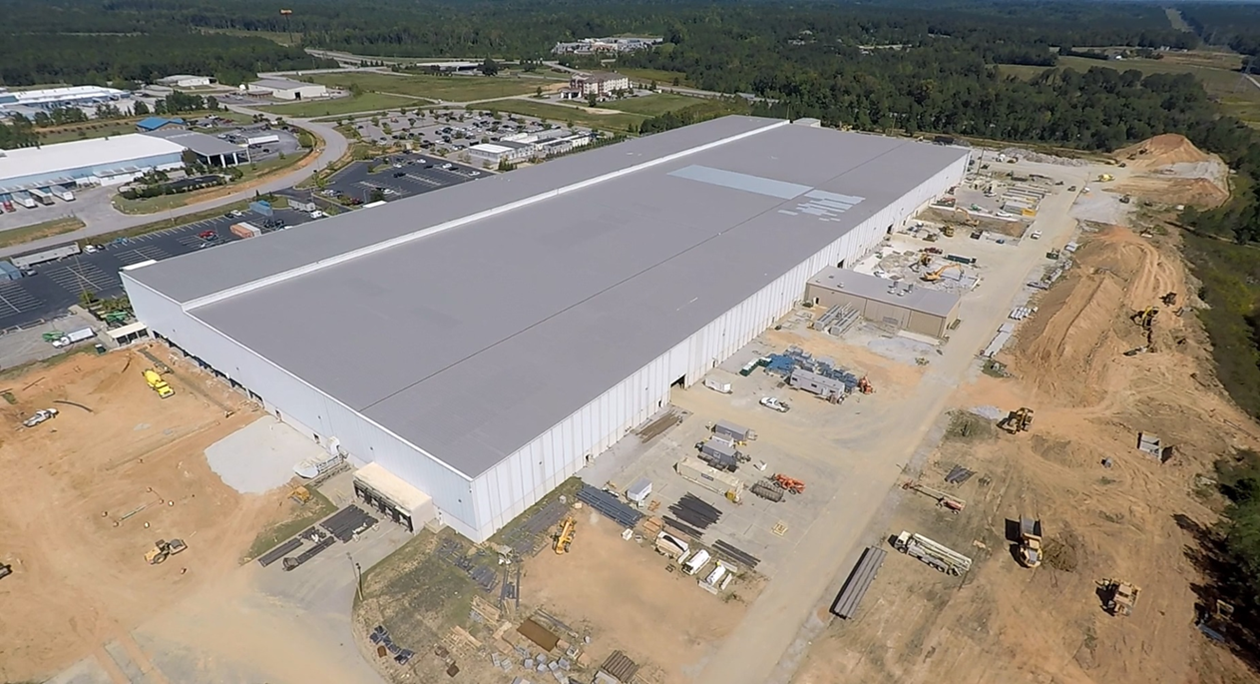 Samsung's $380 million, 453,00-square-foot home appliance manufacturing site in Newberry. (Photo/Provided)