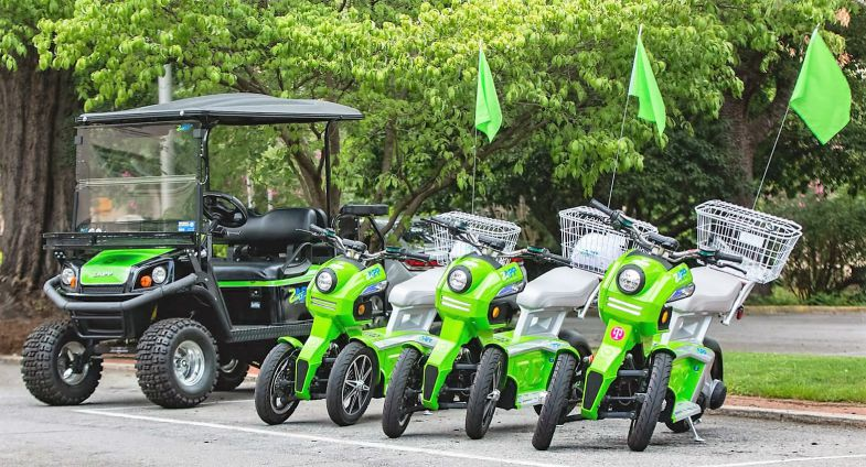 Zapp Rolls Out 100 Electric Scooters Around Downtown Columbia