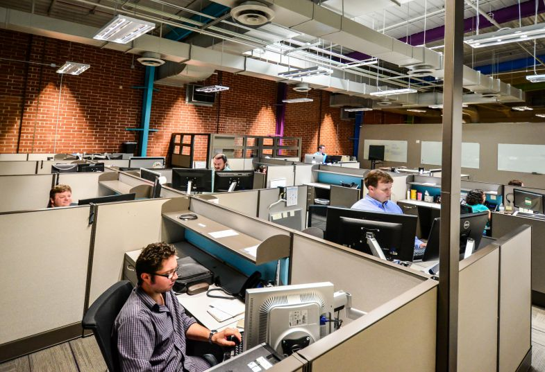 Columbia-based technology provider Softdocs recently moved into a new 55,000-square-foot headquarters. (Photo/Chuck Crumbo)