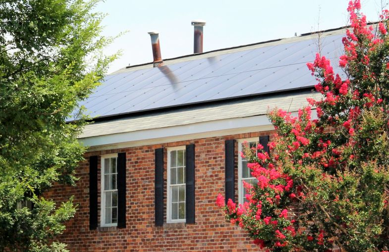 The S.C. Small Business Chamber of Commerce recently installed solar panels on its roof. (Photo/Provided)