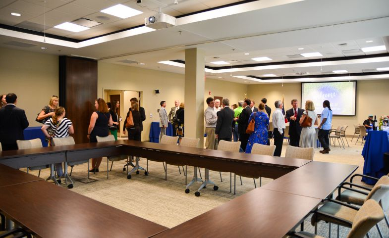 The United Way of the Midlands celebrated the opening of its new headquarters and community center on Tuesday. The 5,500-square-foot conference room offers meeting space to serve as a hub for organizations. (Photo/Chuck Crumbo)