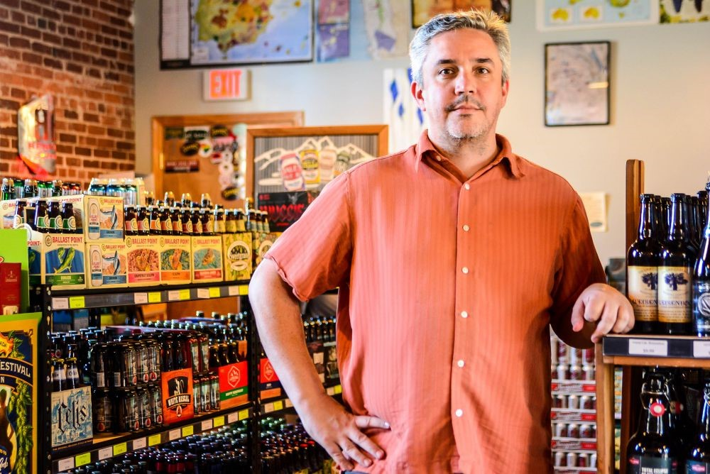 Vino Garage owner Doug Aylard announced in an email on Monday that the boutique wine and beer shop will be reopening at 2501 Main St. (Photo/File)